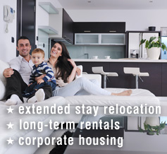 Long term rents; extended stays